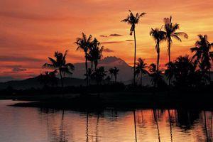 strand zonsondergang - Langkawi - Maleisië