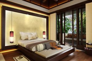 Villa bedroom - Gaya Island Resort - Maleisië