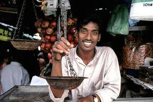marktkoopman in Colombo - Sri Lanka - foto: pixabay
