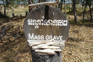 massagraf  Killing Fields - Choeung Ek - Cambodja