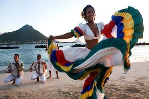 lokale dans - Mauritius