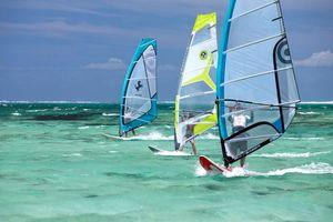 windsurfen - Mauritius