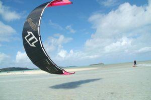 kitesurfing - Mauritius
