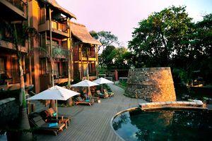 Tamarina Boutique Hotel, zwembad - Tamarina Boutique Hotel - Mauritius