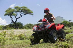 quad rijden op Mauritius (1) - Mauritius