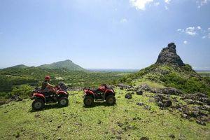 quad rijden op Mauritius (4) - Mauritius