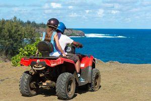 quad rijden op Mauritius (5) - Mauritius