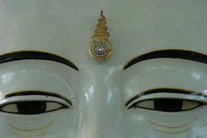 detail ogen Boedha - Monywa - Myanmar