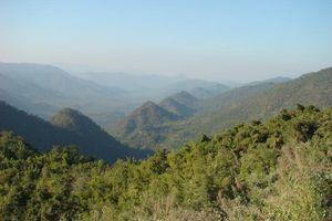 bergen uitzicht - Kalaw - Myanmar