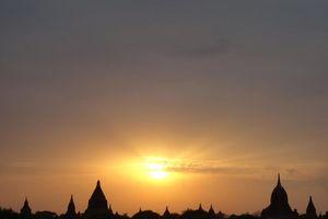 Bagan zonsondergang