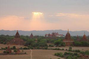 Bagan zonsondergang - Bagan - Myanmar