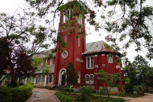 kerk in Pyin Oo Lwin - Pyin Oo Lwin - Myanmar