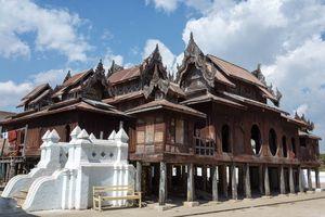 Shwe Yan Pyay temple, Inle Lake, Shan State - Myanmar