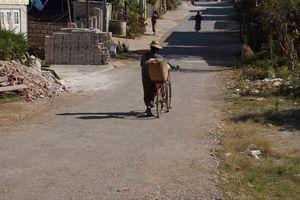 Myanmar fietser, Kalaw - Myanmar