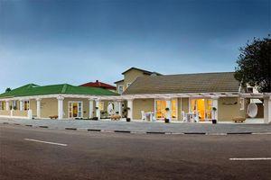 entrée buiten - Swakopmund Guesthouse - Swakopmund - Namibië