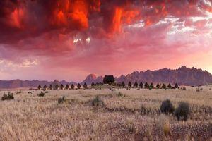 kamers zonsondergang - Desert Homestead - Sossusvlei - Namibië