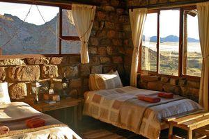 kamer binnen - Klein Aus Vista - Eagles Nest - Aus - Namibië
