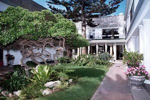 binnentuin - Hansa Hotel - Swakopmund - Namibië