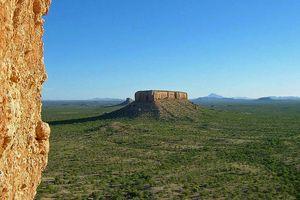 Damaraland landschap - Damaraland - Namibië