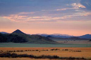 Landschap Namib Rand Nature Reserve - Namib Rand Nature Reserve - Namibië