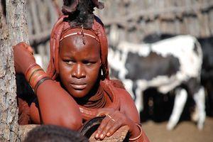 Ovahimba vrouw