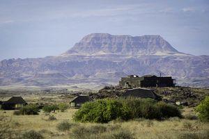 uitzicht vanuit Doro Nawas - Doro Nawas - Namibië
