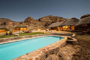zwembad van Canyon Village - Canyon Village - Namibië