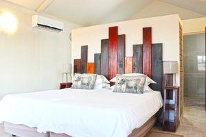 slaapkamer van Desert Camp - Desert Camp - Namibië