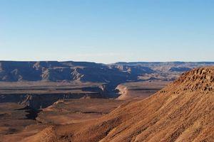 uitzicht over Fish River Canyon - Fish River Canyon - Namibië