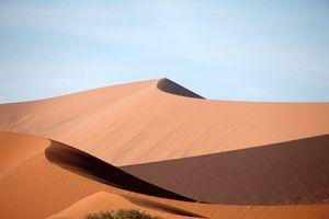 duinen in de Sossusvlei - Sossusvlei - Namibië