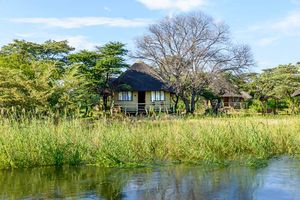 aanzicht van Hakusembe River Lodge - Hakusembe River Lodge - Namibië