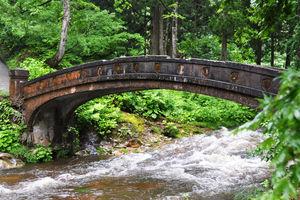 natuur in de omgeving - Ginzan Onsen - Japan - foto: flickr