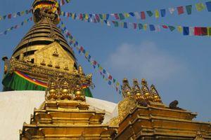 Swayambhunath tempel, Kathmandu - Kathmandu - Nepal