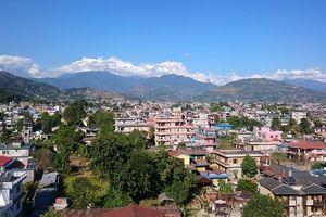 uitzicht vanaf Dahlia Hotel (1) - Dahlia Hotel - Nepal
