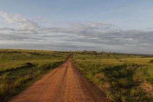 Murchison Falls landschap