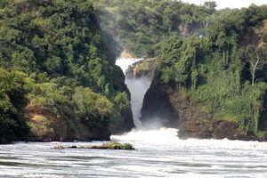 Murchison Falls falls bottom