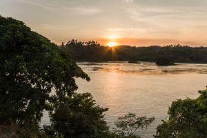 landschap van Jinja - jinja - Oeganda