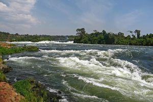 rivier in Jinja - jinja - Oeganda
