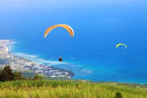 paragliden - Reunion - Réunion