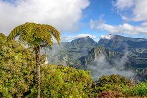 Berglandschap van Cirque de Salazie - Cirque de Salazie - Réunion