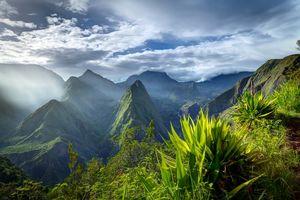 Cirque de Mafate caldera - Réunion