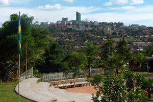 Uitzicht in Kigali