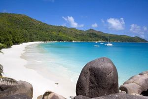 Strand - Anse Lazio - Seychellen
