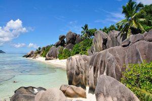 Strand - Anse Source d'Argent - Seychellen