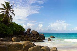 Carana Beach, omgeving - Mahé - Seychellen