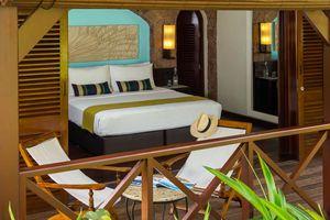 openslaande deuren naar buiten - Paradise Sun - Seychellen