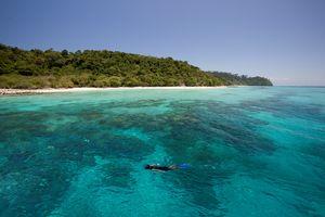 snorkelen in Koh Roh Lanta - Thailand