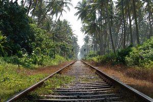 treinspoor - Sri Lanka