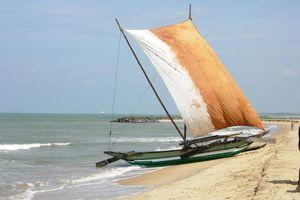 Vissersbootje - Negombo - Sri Lanka