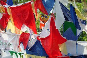 gebedsvlaggen - Sri Lanka